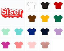 Siser Color Chart Siser Easyweed Stretch Htv 15 Color Pack