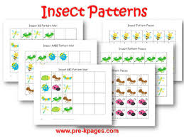 Pattern Activities For Preschoolers Unique Bugs And Insects Theme Activities In Preschool