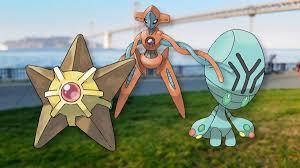 Pokémon Go Enigma Woche - Shiny Deoxys, Sterndu und Pygraulon fangen •  Eurogamer.de