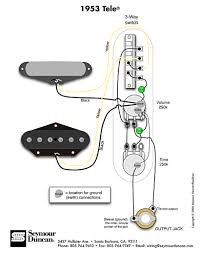 tele wiring diagram way switch telecaster build 1953 tele wiring diagram seymour duncan