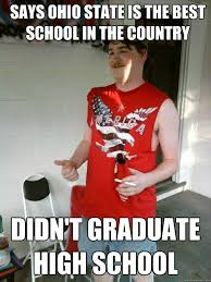 Didn't Quickmeme Country School Says Is State High The Redneck In - Best Graduate Ohio Randal