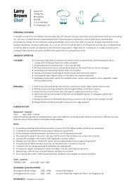 Cook Resume Sample Pdf Chef Resume Template Cook Cv Sample Pdf