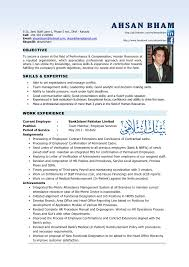 Resume Template Sample Resumes For Hr Professionals Free Career