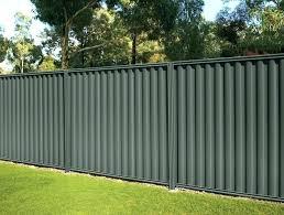 corrugated metal fence corrugted metl plans panels uk