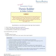 thesis statement builder for persuasive essay movie review  play sudoku a popular online