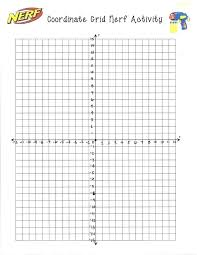 4 Quadrant Graph Paper Numbered Math Printable First 1 Bonniemacleod
