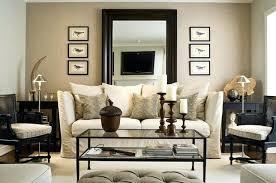 Tan Living Room Impressive Decorating Design