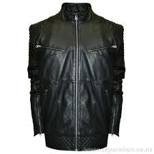 outerwear for men big tall franchise club raw x lambskin leather moto jacket