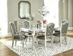 white modern dining room sets. Round Dining Set For 8 Modern Room Sets Furniture White . E