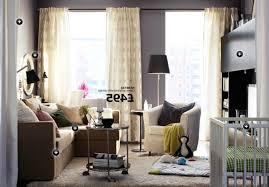 Ikea Living Room Beige Wooden Laminate Floor Ikea Living Rooms Brown Rug Area Big