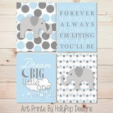 baby boy decor nursery prints i ll love you forever dream big little one blue