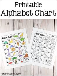 Alphabet Printables For Pre K Preschool Kindergarten