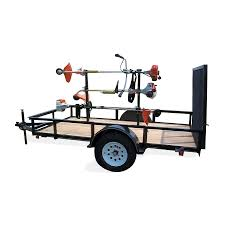 carry on trailer 14 in weed trimmer rack