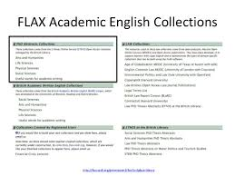 the phd abstracts collections in flax academic english the open   learning 14