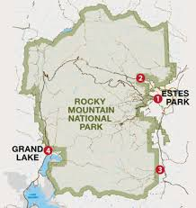 which entrance should i take into rocky mountain national park