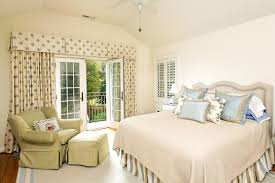 image of country ruffled curtains bedspreads