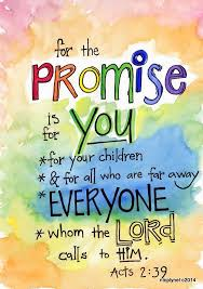 Bible Verse God's Promise For You And Everyone Acts Illustrated Cool Promise Bible Verses