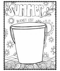Small Picture pen paint FREE Printable Coloring Page Summer Bucket List