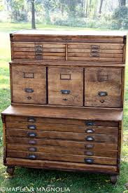 Antique Drawer Cabinet Big Antique Pine 53 Multi Drawer Apothecary Dresser Chemist
