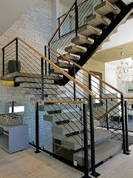 Modern Handrail stair railings iron luxury home design by larizza 1473 by guidejewelry.us