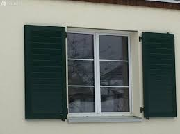 1 Kunststoff Fenster 3 Fach Verglast Fensterläden Waldgrün In