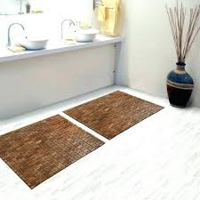 bamboo bathroom mat bamboo bath mat bathroom mat stunning brown teak bath mat on cozy floor