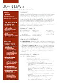 Curriculum Vitae Template Free Fascinating Curriculum Vitae Director Project Manager Example Managing Cv