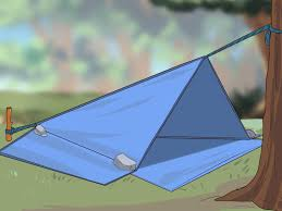 How To Make A Tent How To Make A Tent 13 Steps With Pictures Wikihow