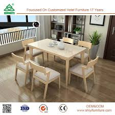 excellent performance wooden dianing room chair parts environmental table dining room furniture sets