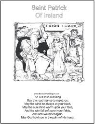 Small Picture 6 St Patricks Day Coloring Pages Short Irish Blessings