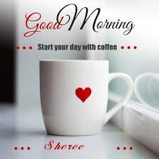 Wish sheree Good Morning with Coffee - February 2021