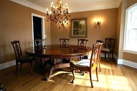 full size of round formal dining table brown mahogany room in customers home glass dining room
