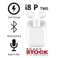 <b>I8P TWS Wireless Bluetooth</b> Headphone Earbuds Earphone For All ...