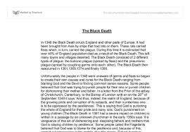 the black death gcse history marked by teachers com document image preview