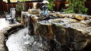 Garden Design: Garden Design with Modern Backyard Water Features ...