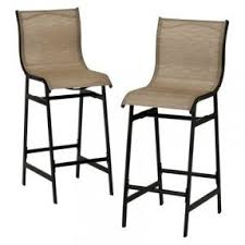 target home dumont 2piece sling patio bar chair tanopens in patio bar chairs e47