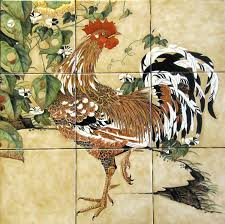 Decorative Chickens For Kitchen Ranch Farm Country Living Rural Lifestyle Tile Murals By Julia
