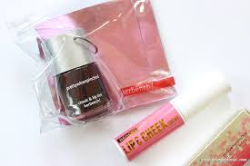 bench paint box red blushing gel pink cheek lip tint