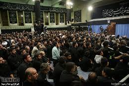 Image result for مراسم عزاداری اباعبدالله الحسین (علیهالسلام) در حسینیه امام خمینی (ره)