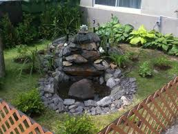 Small Picture Easy Stone Waterfall With Small Ponds For Backyard Garden House
