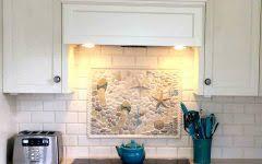 New Construction Beach House With Coastal Interiors  Home Bunch Coastal Kitchen Backsplash Ideas