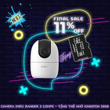 Camera Giám Sát An Ninh DAHUA IMOU RANGER 2 A22EP 2MPX + Thẻ Nhớ 32GB  [Chính hãng BH 24TH]
