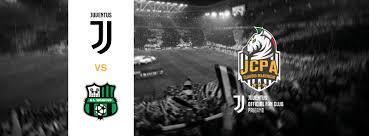 BIGLIETTI JUVENTUS – SASSUOLO   Juventus Official Fan Club Palermo