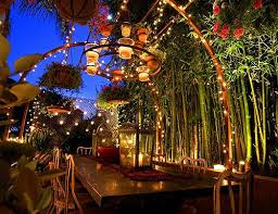 beautiful outdoor lighting. Beautiful Outdoor Lighting Photo - 3 W