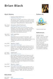 Field Technician Resume Samples Visualcv Resume Samples Database