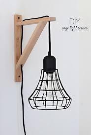 cage light sconces