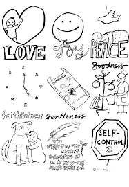 Small Picture Fruits Of The Spirit And Holy Spirit Coloring Pages glumme