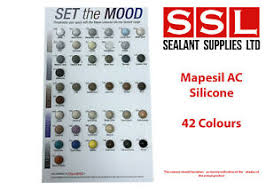 Mapesil Sealant Colour Chart Details About Mapei Mapesil Ac 310ml Silicone Sealant Low Modulus All Colours Available