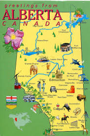 greetings from alberta canada  maps  pinterest  alberta canada