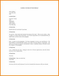 Innovation Cover Letter Address Format 10 Cover Letter Address